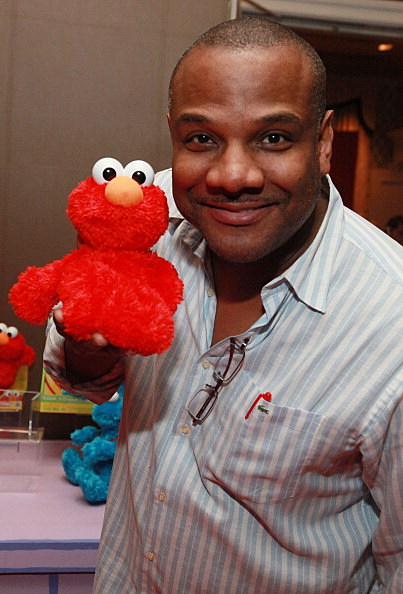 """Puppeteer and voice of """"Elmo""""  Kevin Clash"""