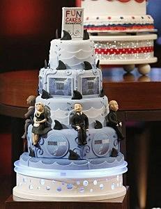 Styrofoam Wedding Cake Shark Tank