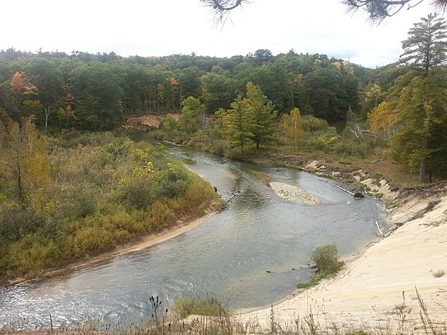 Pine River near LeRoy (Jojo Girard/Townsquare Media)