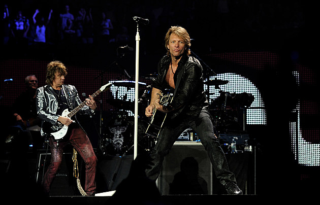 Bon Jovi Perform At The O2 Arena