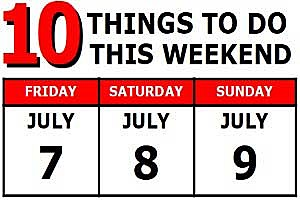 10 Things to do June 23-25, 2017